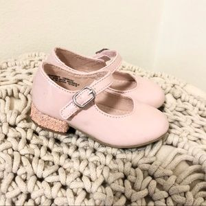 NEW Harper Canyon pink baby girl heels dress shoes